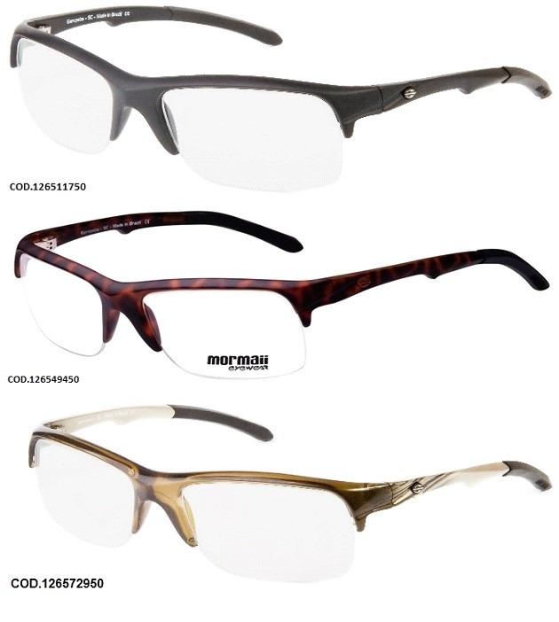 5185c1421 Armação Para Oculos De Grau Mormaii Itapuã 3 - Garantia - R$ 179,92 ...