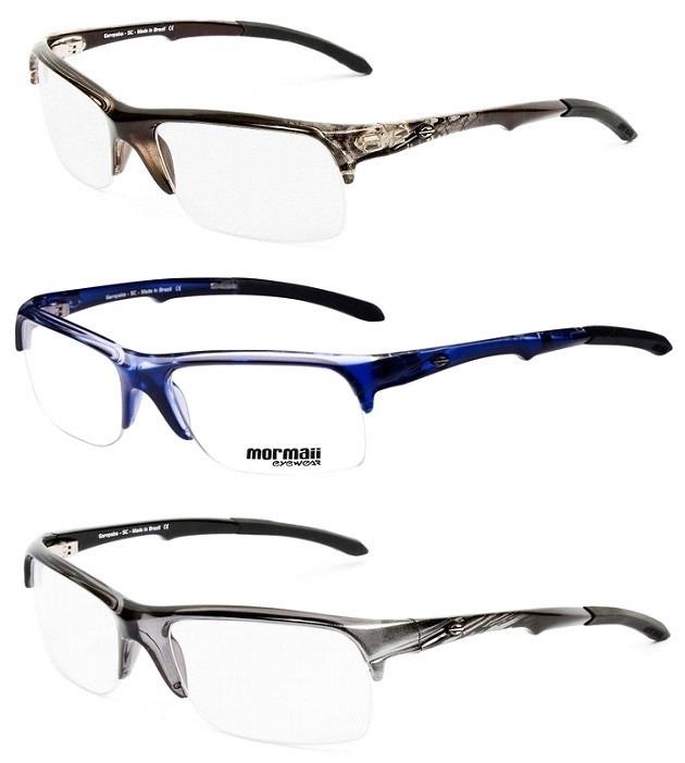 33e2142a3fe3c Armação Para Oculos De Grau Mormaii Itapuã 3 - Garantia - R  179