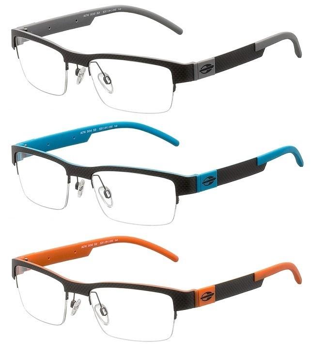 Armação Para Oculos De Grau Mormaii Mo1676 Fibra De Carbono - R  299 ... e9fed18756