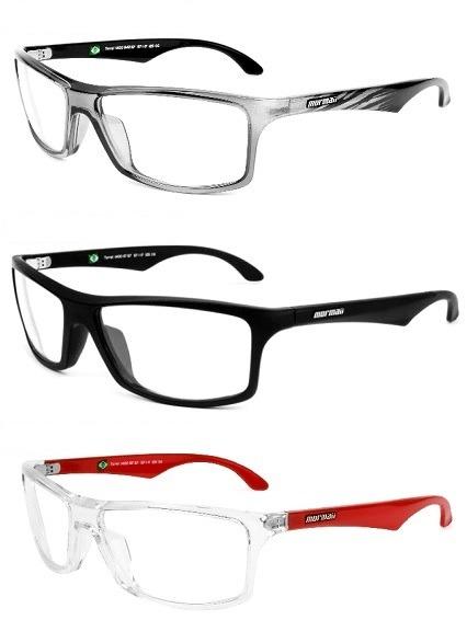 2226d3b0b8efe Armação Para Oculos De Grau Mormaii Terral - Frete Gratis - R  269 ...