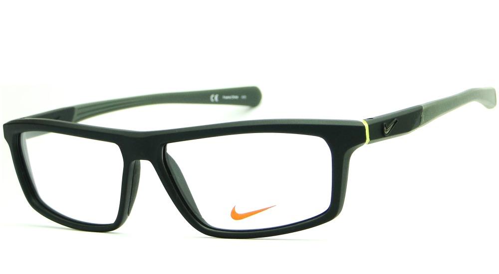 1ba6b27ce2291 armação para óculos de grau nike 7085 masculina esporte. Carregando zoom.