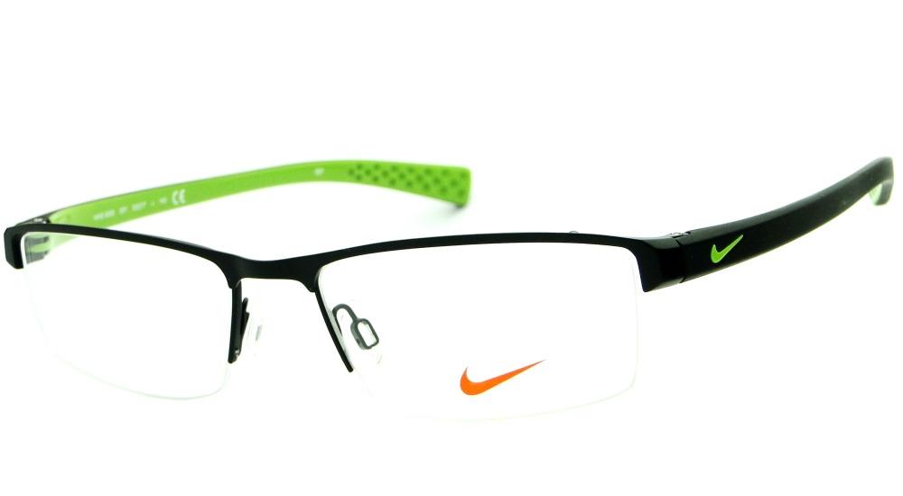a02af2b51b266 armação para óculos de grau nike 8095 001 masculina original. Carregando  zoom.