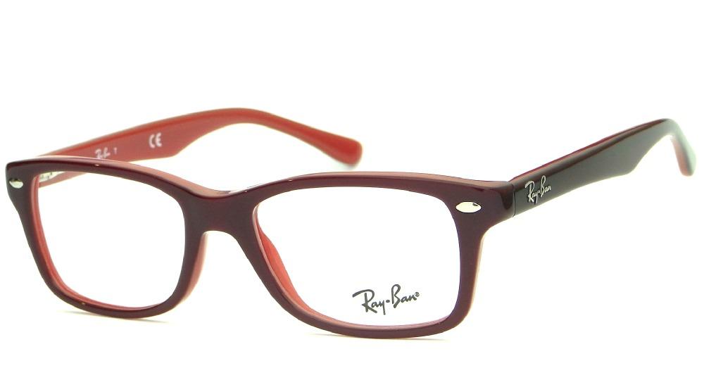 7b50c5153e268 armação para óculos de grau ray ban junior rb 1531 feminina. Carregando  zoom.