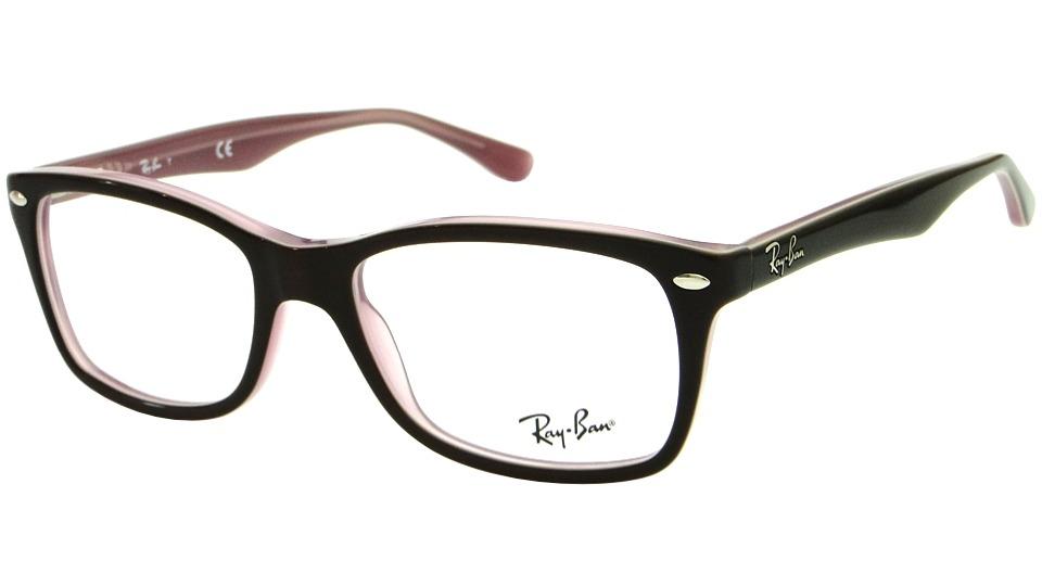 dccd9315d2466 armação para óculos de grau ray ban rb 5228 feminino retrô. Carregando zoom.