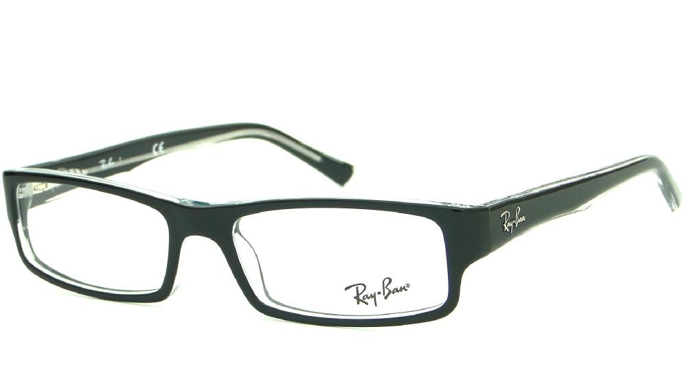 df51e97d558eb armação para óculos de grau ray ban rb 5246 original. Carregando zoom.