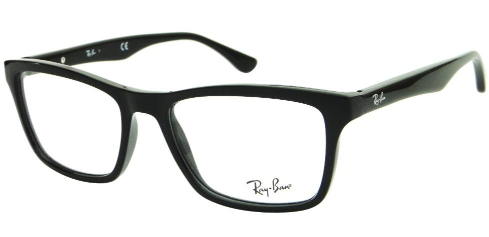 a74c1a5b16d6f armação para óculos de grau ray ban rb 5279 wayfarer. Carregando zoom.