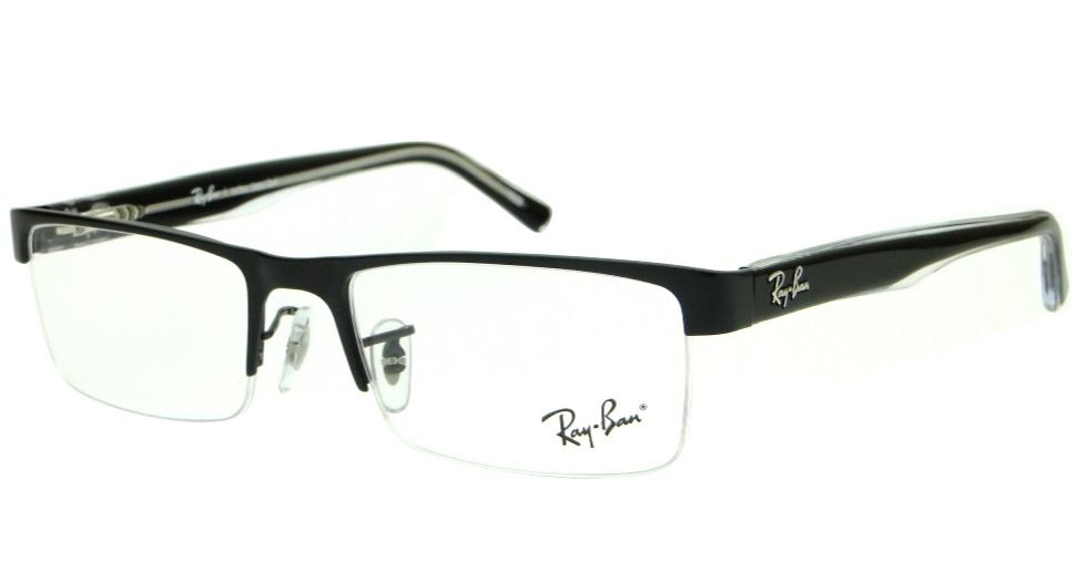 7e35c29db4ce8 armação para óculos de grau ray ban rb 6296l masculino. Carregando zoom.