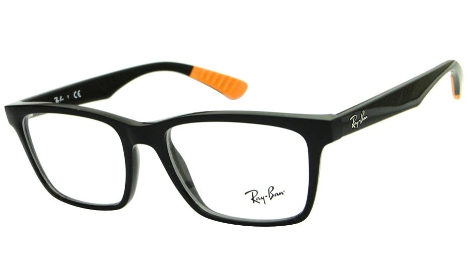 ac7eabe1f armação para óculos de grau ray ban rb 7025 retrô masculina. Carregando  zoom.