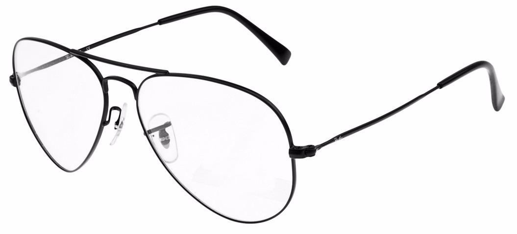 6e71b8a58667c armação para óculos de grau rayban aviador frete gratis. Carregando zoom.