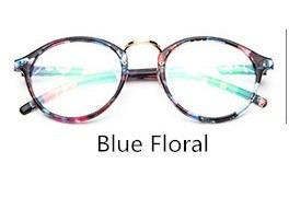 Armação Para Óculos De Grau Receituário Estampado Retro - R  49,90 ... 82a1d07c5d