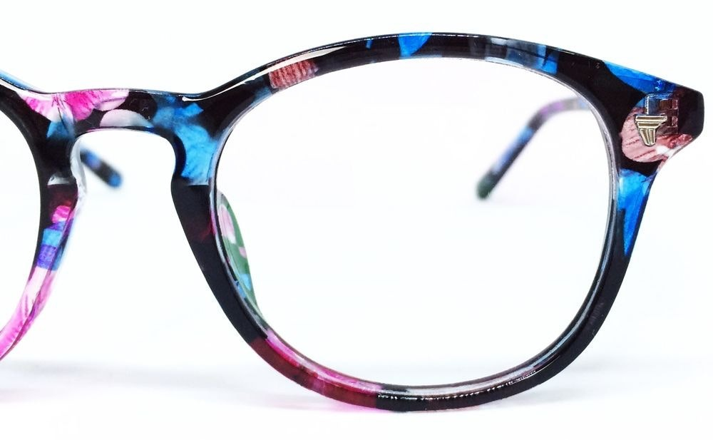 Armação Para Óculos De Grau Redonda Unissex - Floral - R  50,56 em Mercado  Livre ca9e921013