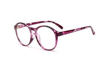 Armação Para Óculos De Grau Redonda Vintage - Púrpura - R  50,56 em ... ad9f8a6983