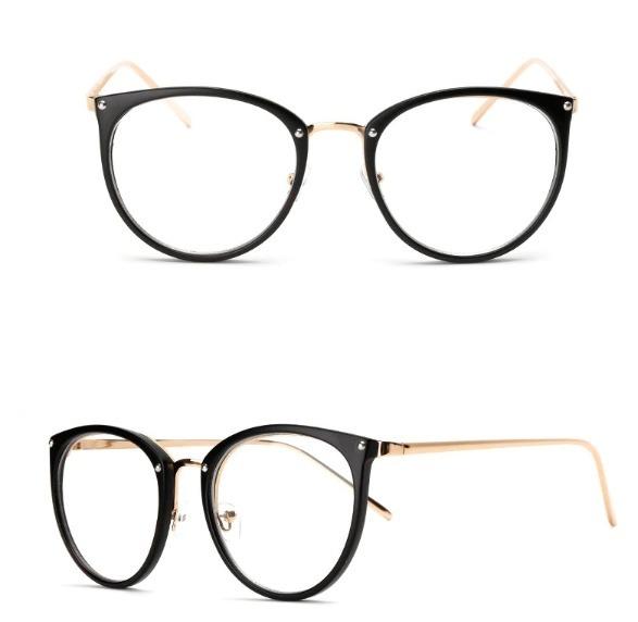 748f30cacf824 Armação Para Óculos De Grau Retrô Vintage Quadrado Geek - R  28