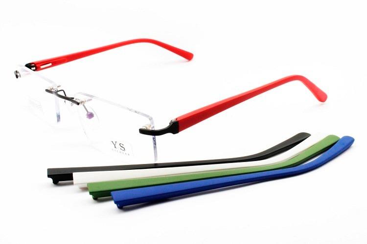 e629bad46d52a Armação Para Óculos De Grau Sem Aros Troca Hastes - 471069 - R  118 ...