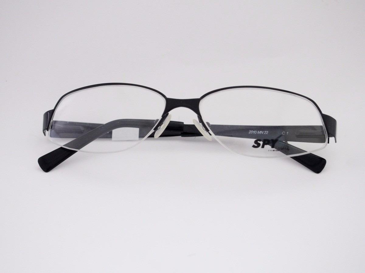 54da0a7238c91 armação para óculos de grau spy esportivo preto 2008mn09. Carregando zoom.