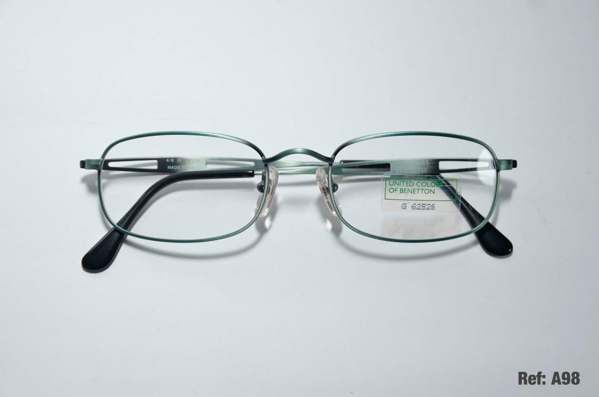 3de30858f armação para óculos de grau - united colors of benetton. Carregando zoom.
