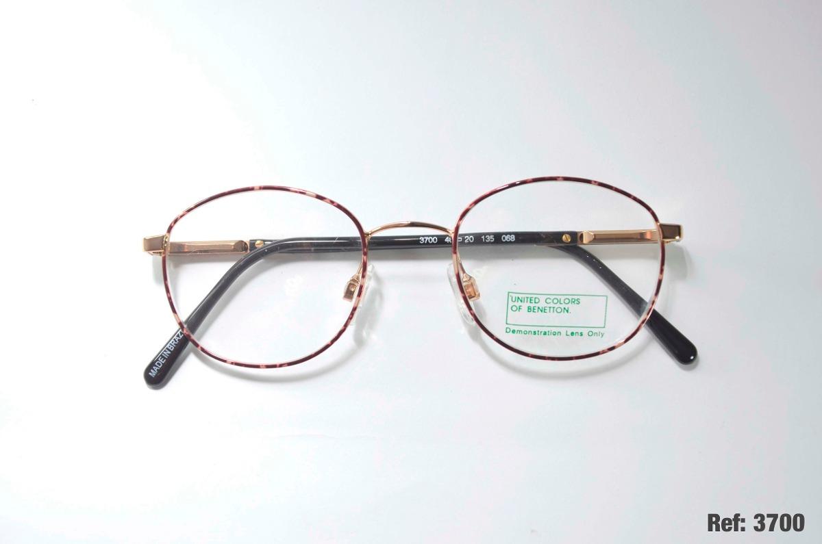 163dbaa9b17d8 Armação Para Óculos De Grau - United Colors Of Benetton - R  79,99 ...