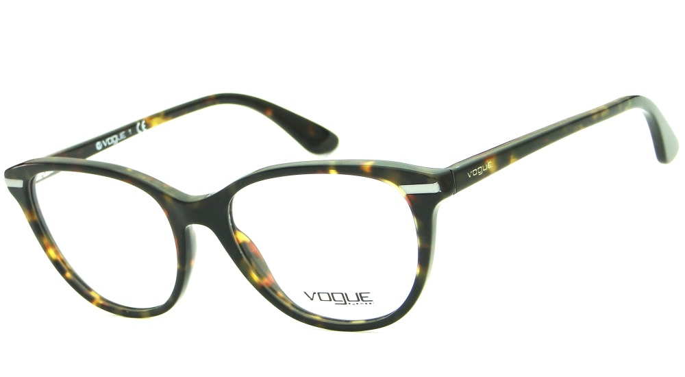 3bb46566e975e Armação Para Óculos De Grau Vogue Vo 2937 Feminina Retrô - R  379