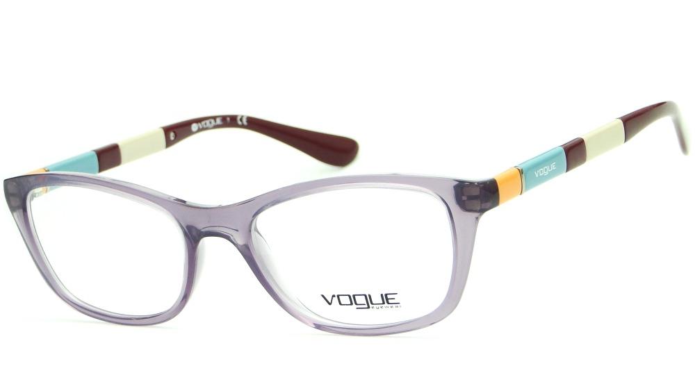 0373bf377530b armação para óculos de grau vogue vo 2969 feminina retrô. Carregando zoom.