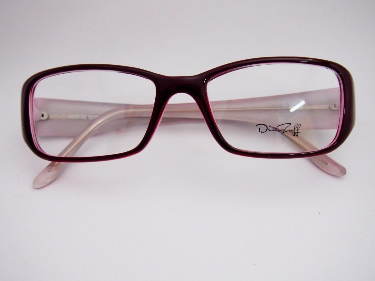 Armação Para Óculos Dina Zeff Acetato Vinho Fem M02 - R  98,00 em ... b22bd9e1d6