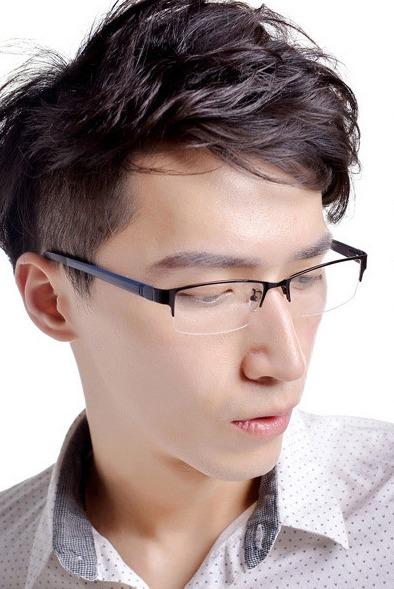 50a682e57705d Armação Para Óculos Grau Masculina Fio Nylon Flexível Leve - R  30 ...