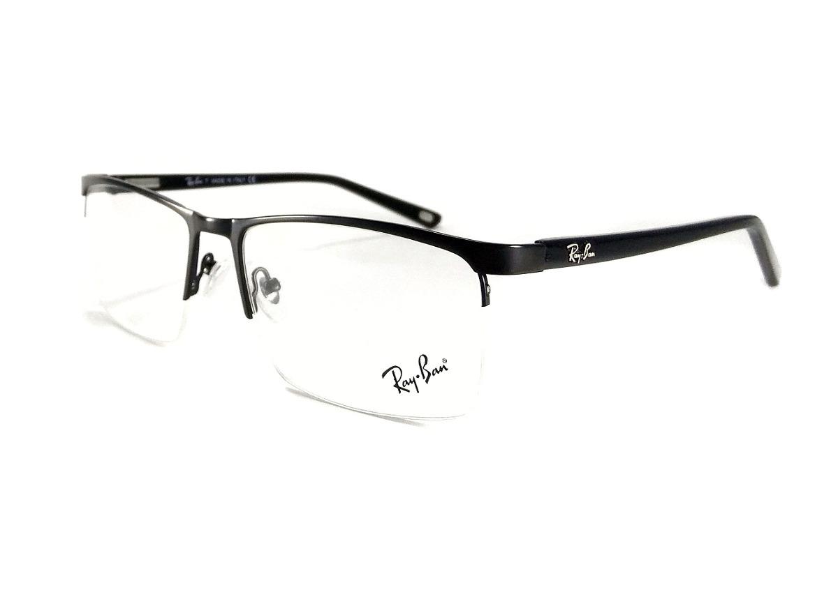... 1dbdefd3837 armação para oculos grau masculino rb9137 meio aro acetato. 62f2b4aae9