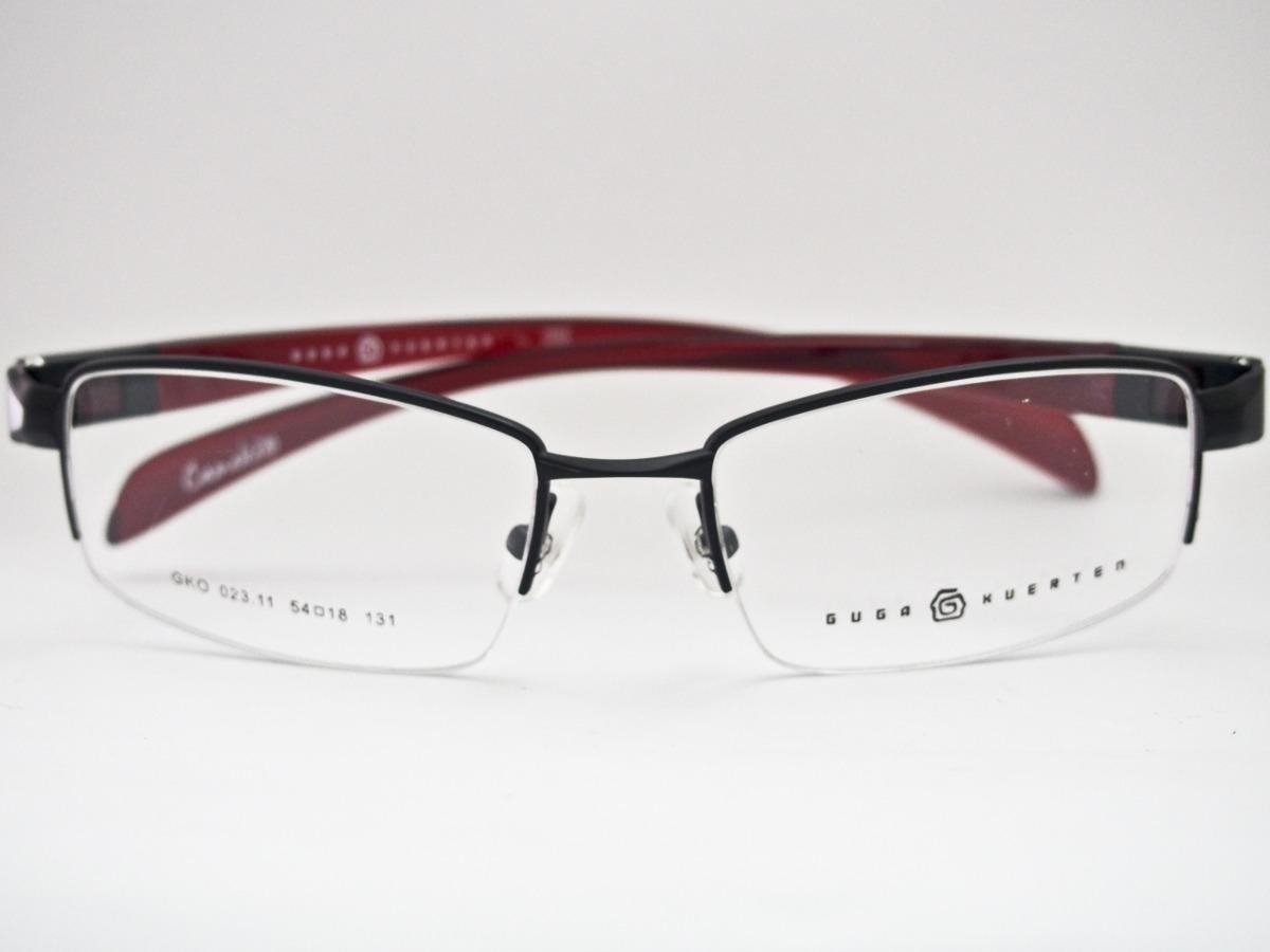 a4cbeb39a3a1e armação para óculos guga kuerten esportivo camaleão preto. Carregando zoom.
