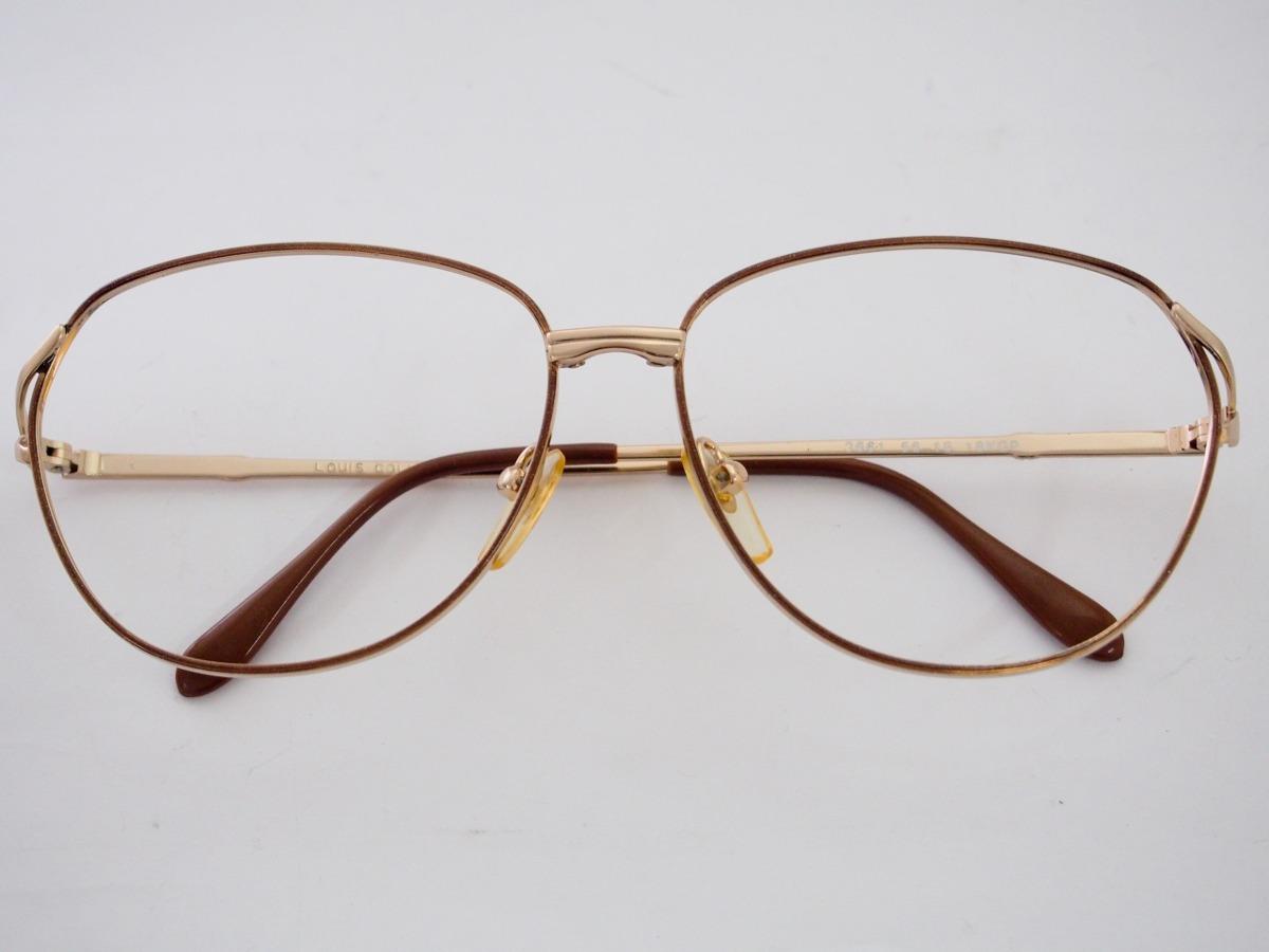 0b4a1947bbd76 armação para óculos luis col marrom retro vintage feminina. Carregando zoom.