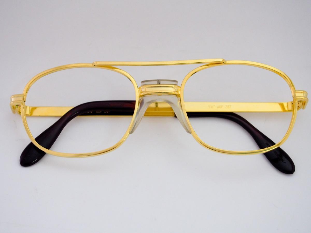 Armação Para Óculos Metal Dourada Com Ponte Anatômica - R  20,00 em ... cfa2c67fda