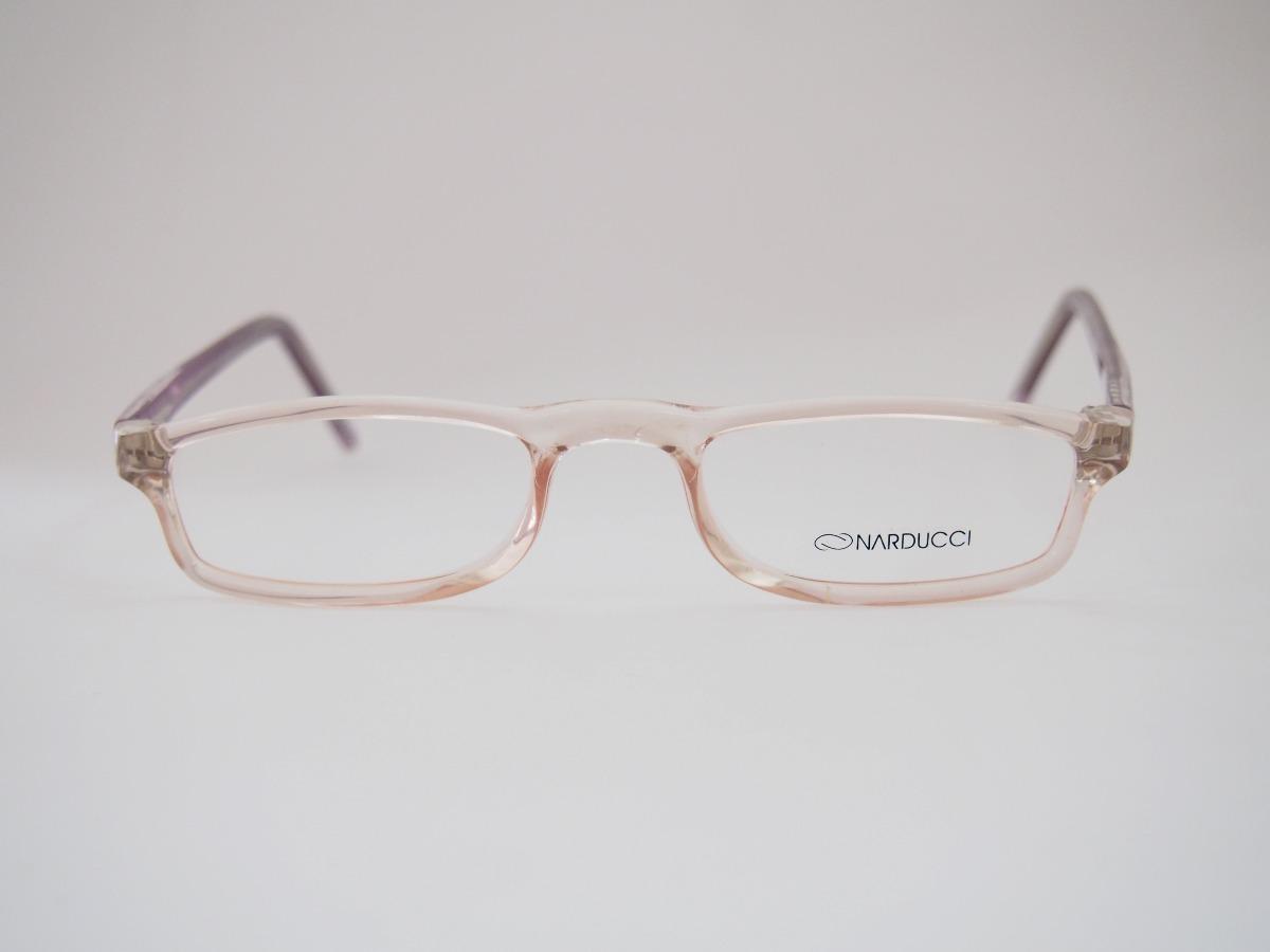 d76563e05b9a2 Armação Para Óculos Narducci Acetato Leitura Mod820 - R  89,00 em ...