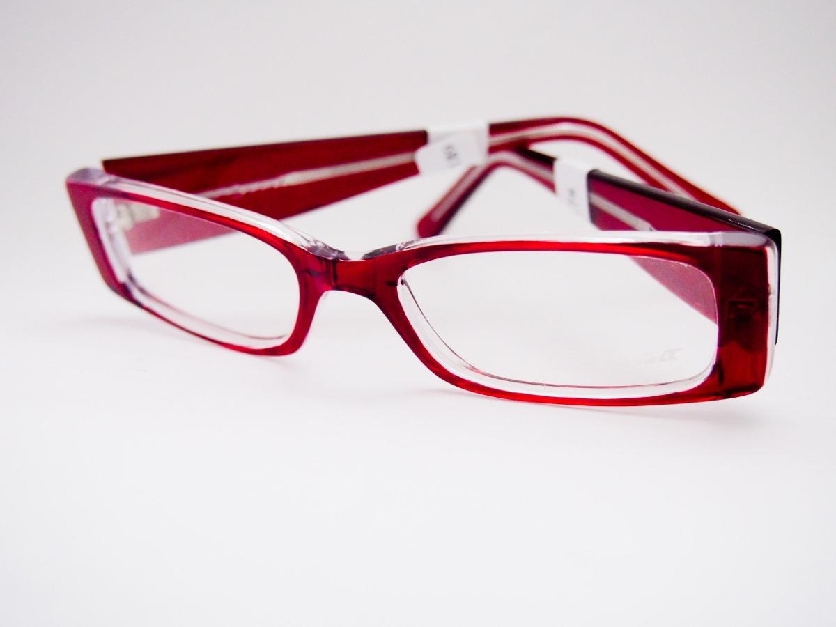 4855b4b0e3910 armação para óculos nysell acetato vermelho feminino. Carregando zoom.