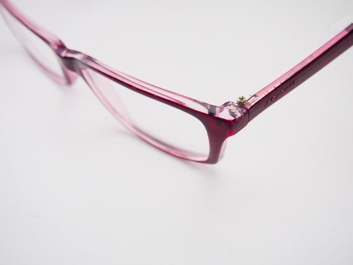 Armação Para Óculos Nysell Acetato Vermelho Feminino - R  178,00 em ... 27d1066db3