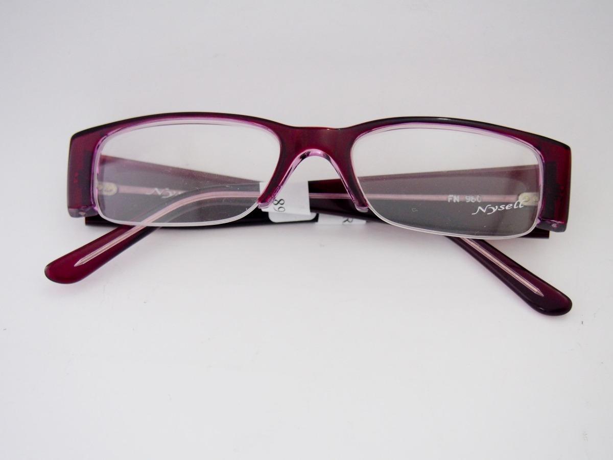 cdba7eeeaf969 armação para óculos nysell acetato vinho e lilás fem fn980. Carregando zoom.