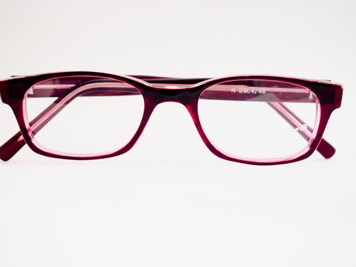 5018c793cdfe9 armação para óculos nysell acetato vinho e lilás n2904. Carregando zoom.