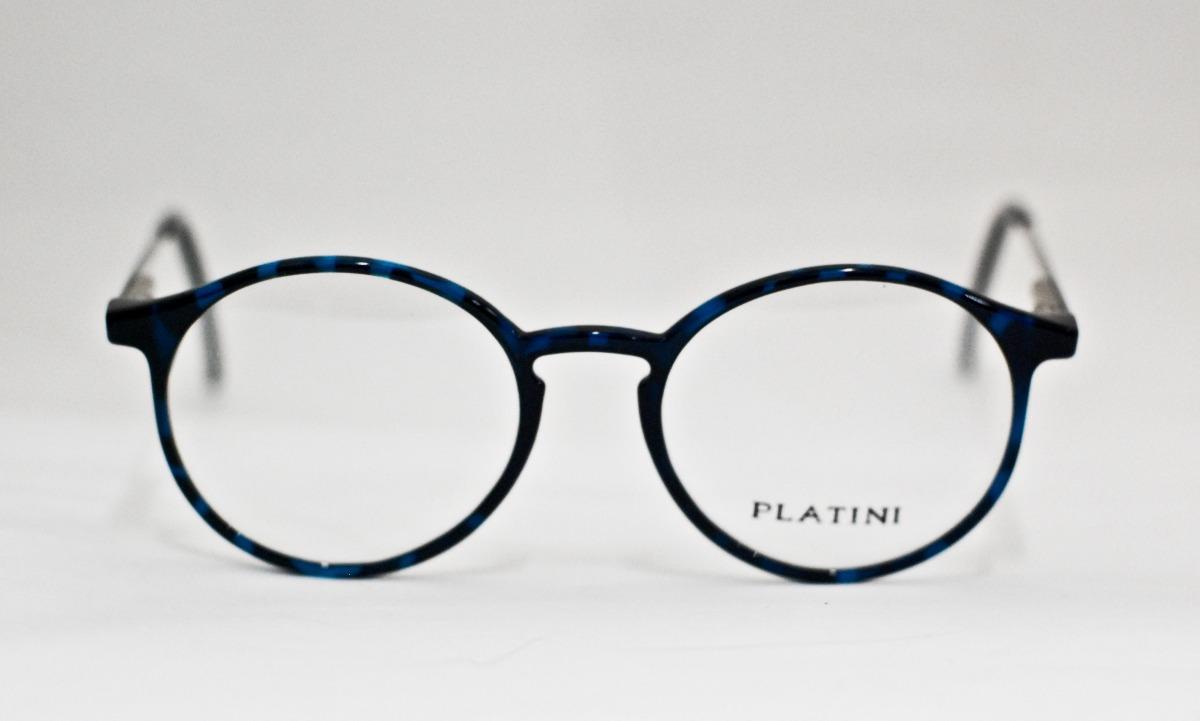 409244cf3a032 armação para óculos platini acetato vintage redondo m1601. Carregando zoom.