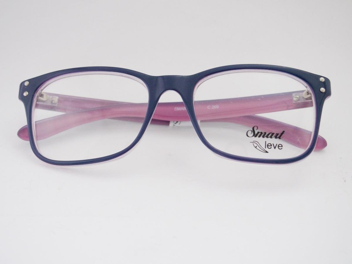 armação para óculos smart acetato retro azul rosa infanto. Carregando zoom. b8c885df3e