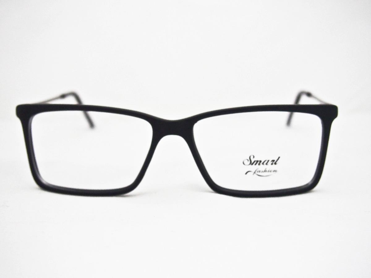 Armação Para Óculos Smart Acetato Retro M1201 - R  149,00 em Mercado ... d4b0ac117e