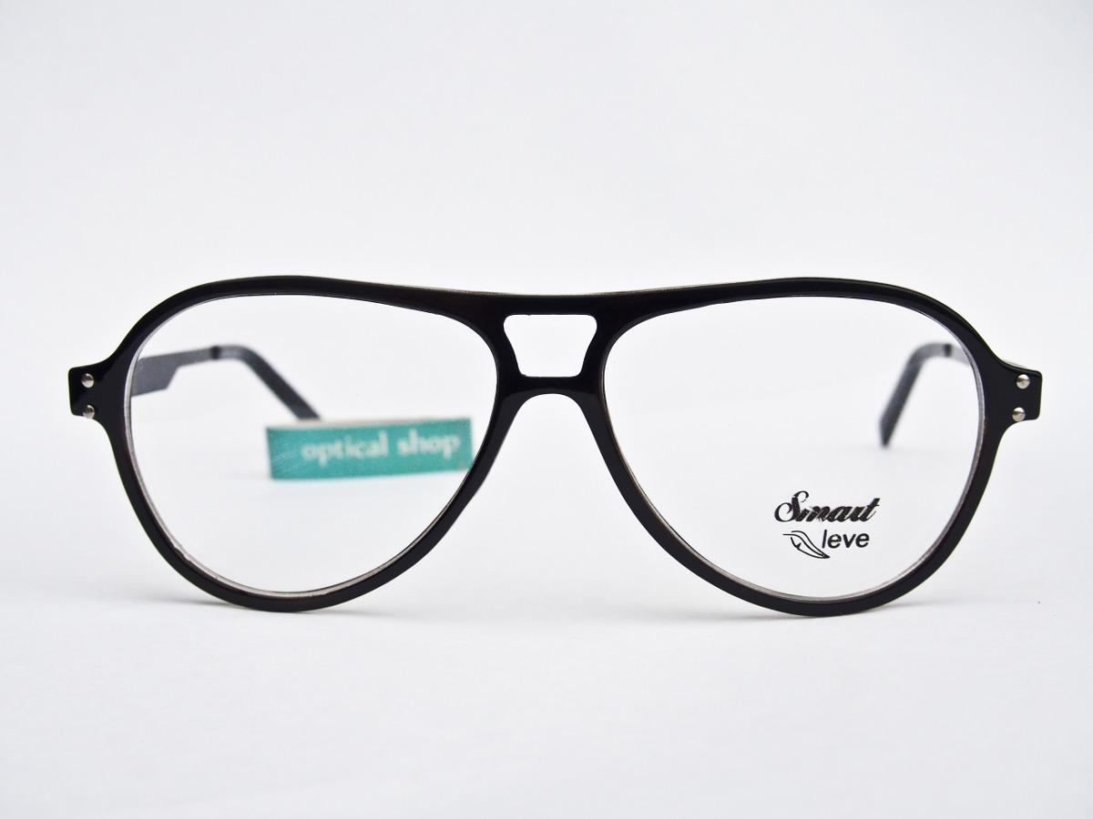 0a94bd47ab504 armação para óculos smart grilamid aviador m6603 unissex. Carregando zoom.