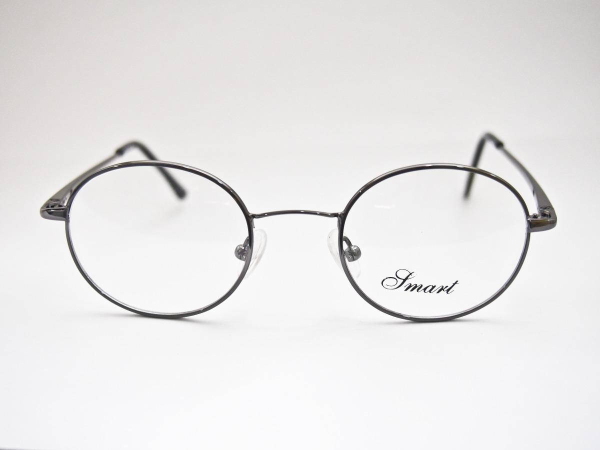 df2fcc702b871 armação para óculos smart redonda estilo harry potter grafit. Carregando  zoom.