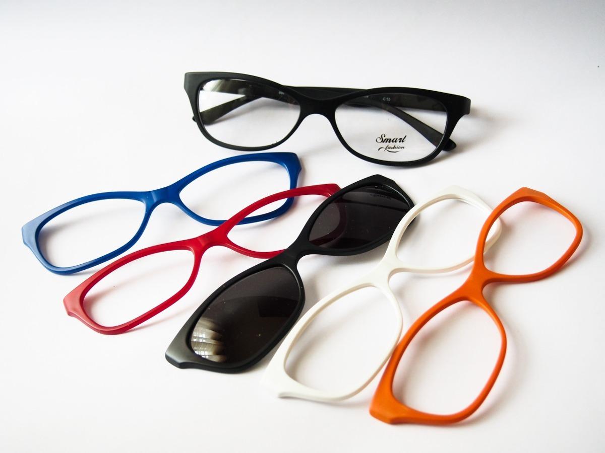 d8ab7d962 Armação Para Óculos Smart Troca Frente Gatinho 935 - R$ 198,00 em ...