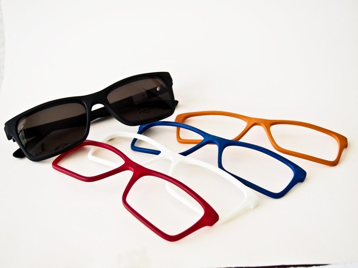 2fea2a7a25844 Armação Para Óculos Smart Troca Frente M.934 Original - R  199,00 em ...