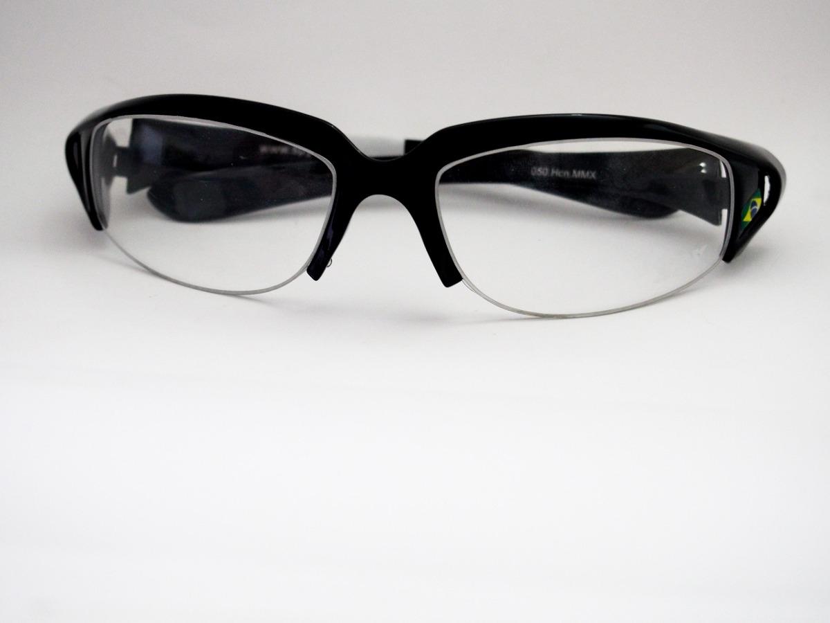 941ed6ff717a3 Armação Para Óculos Spy Esportivo Curvado Preto 50 Mmx - R  149