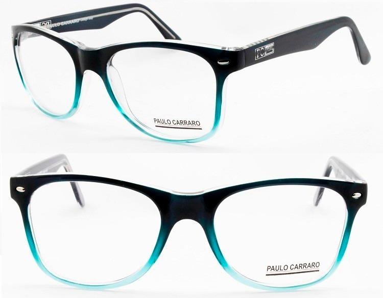 7c416b5445c71 Armação Paulo Carraro Original P  Óculos De Grau - 6015 - R  129