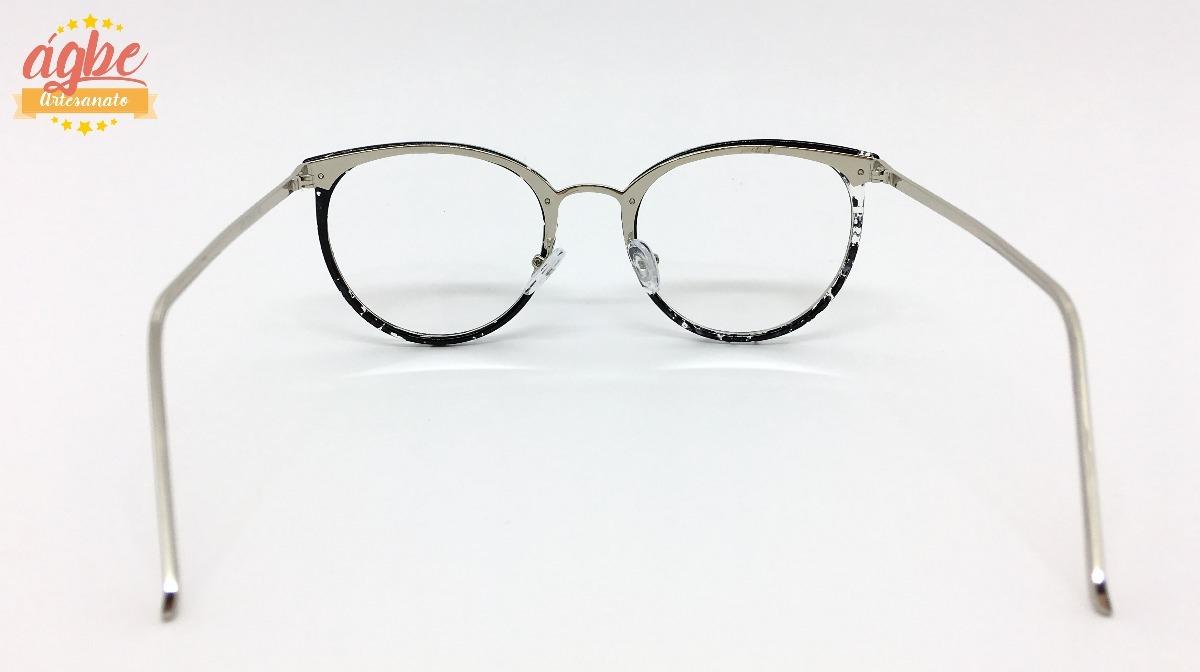 9ec15b5de8885 armação p grau óculos redondo vintage feminino varias cores. Carregando zoom .
