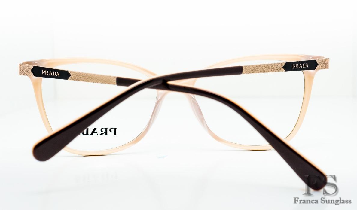 7a9997a2b37a8 armação p óculos grau prada acetato feminino frete grátis. Carregando zoom.