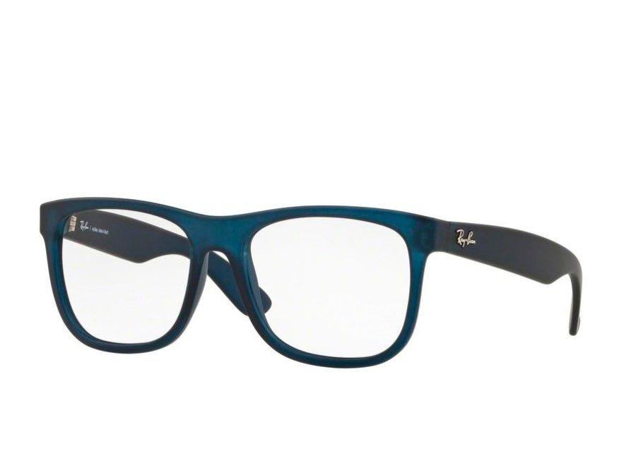 362e031e1ad7c Armação Ray Ban Rb7057l 5787 (azul, Acetato) - R  400,00 em Mercado ...