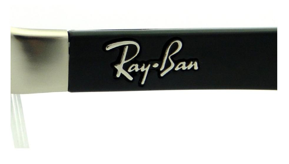 95db3dd155cc7 armação ray ban rb 6301l para óculos de grau masculina. Carregando zoom.