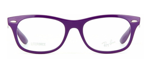 armação ray ban wayfarer liteforce rb7032 5437 50 violeta