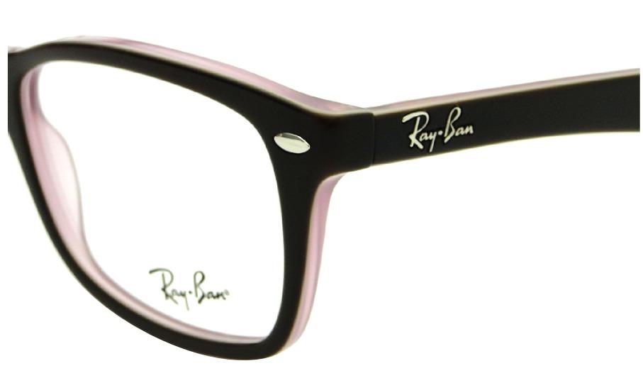 6b4585bbb Armação Ray Ban Wayfarer Rb 5228 Feminina Óculos De Grau - R$ 329,00 ...
