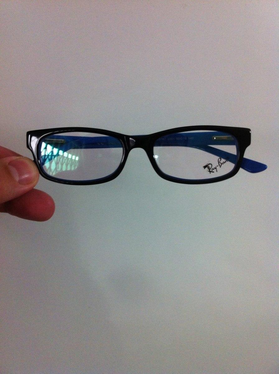 3456aed7c Armação Rayban Infanto Juvenil Para Óculos De Grau - R$ 110,00 em ...